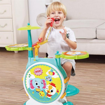 Музыкальная игрушка Hola Toys Барабанная установка R