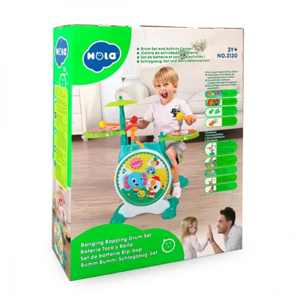Музична іграшка Hola Toys Барабанна установка R