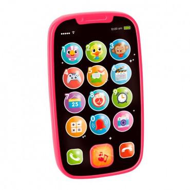 Музична іграшка Hola Toys Мій перший смартфон (рожевий)
