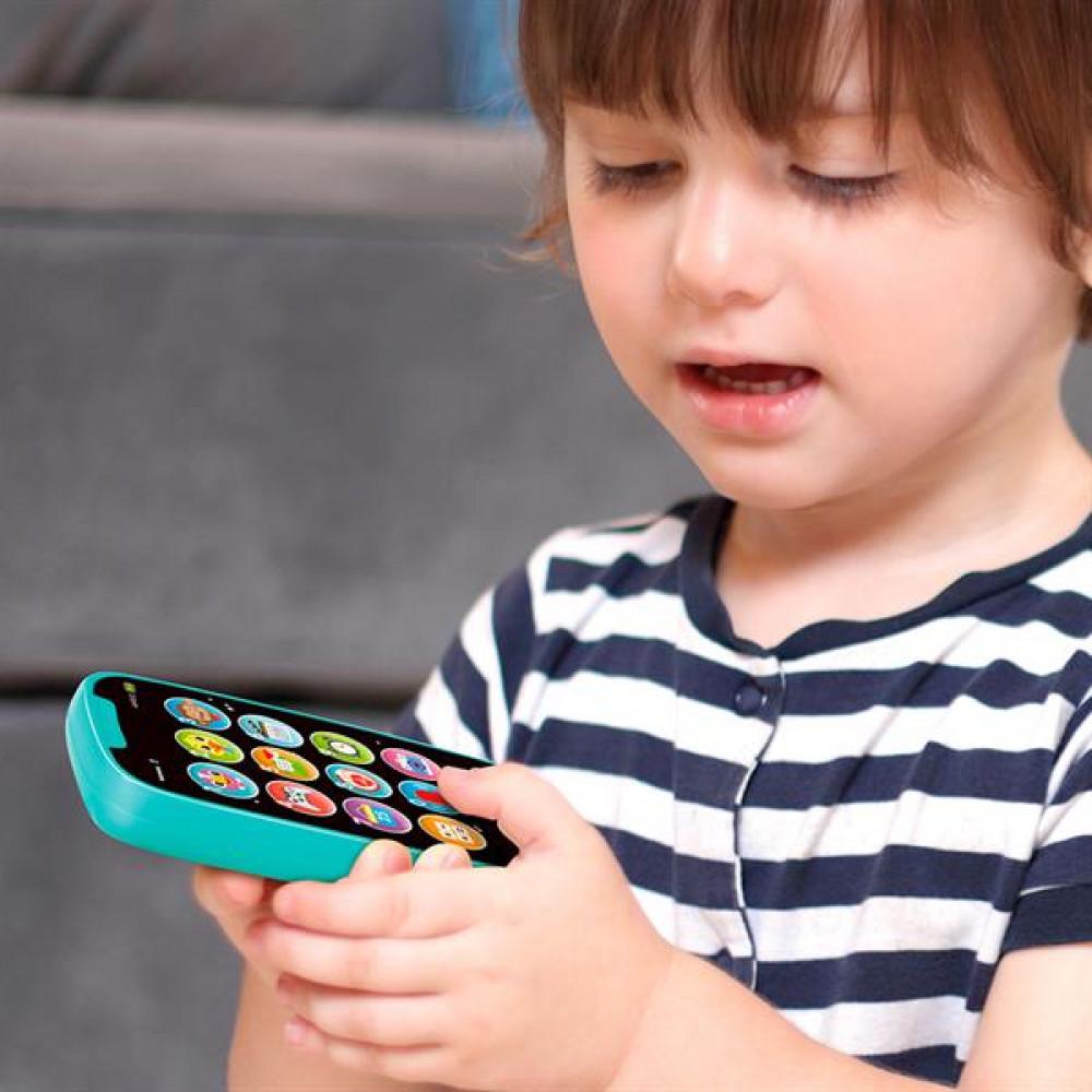 Музична іграшка Hola Toys Мій перший смартфон (блакитний)