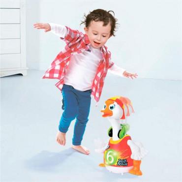 Інтерактивна музична іграшка Hola Toys Танцюючий гусак (червоний)
