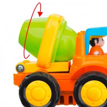 Набір іграшкових машинок Hola Toys Самоскид і бетономішалка, 6 шт.