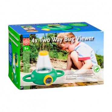 Набір натураліста Edu-Toys Контейнер для комах з збільшувальними стеклами 4x