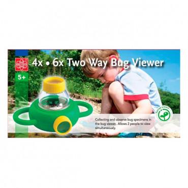 Набір натураліста Edu-Toys Контейнер для комах з збільшувальними стеклами 4x 6x