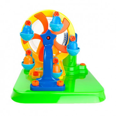 Конструктор Edu-Toys Колесо обозрения с инструментами