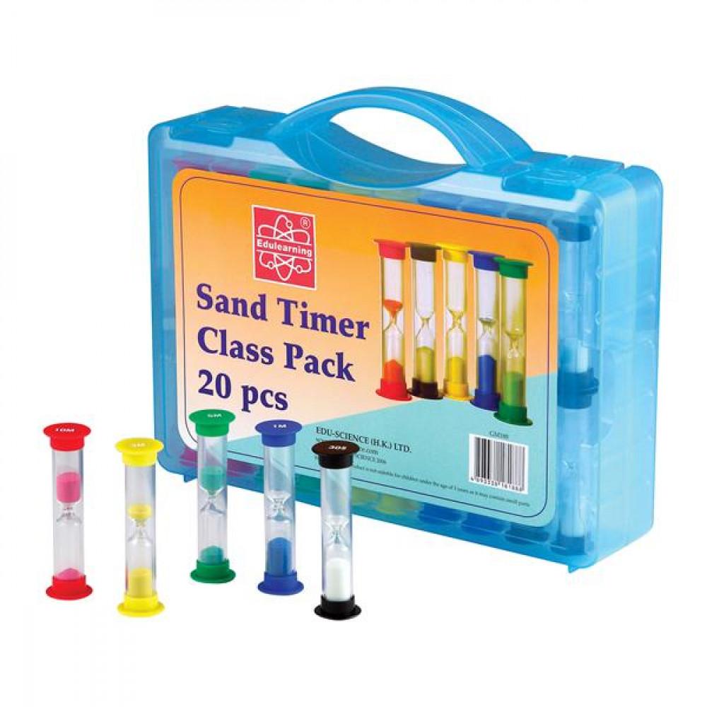 Набір пісочного годинника Edu-Toys на клас, 20 шт.