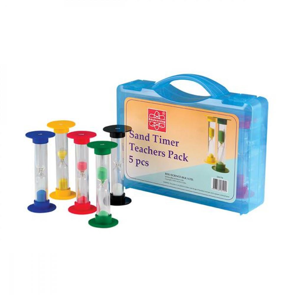 Набір пісочного годинника Edu-Toys для вчителя, 5 шт.