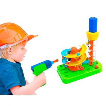 Конструктор Edu-Toys Гірка-спіраль з інструментами