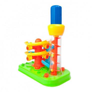 Конструктор Edu-Toys Горка-спираль с инструментами