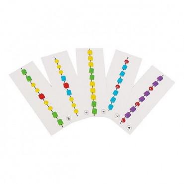 Шнурівка Gigo Пластикові намистини