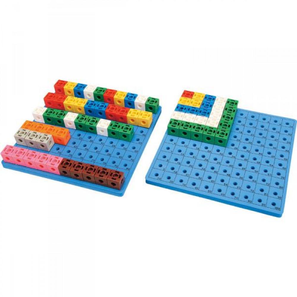 Дошка для набору З'єднай кубики 1017CR Gigo