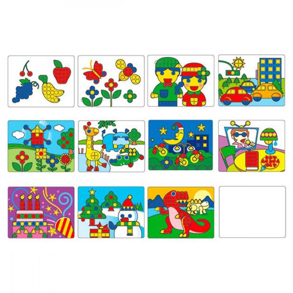 Комплект навчальних шаблонів для Великий мозаїки