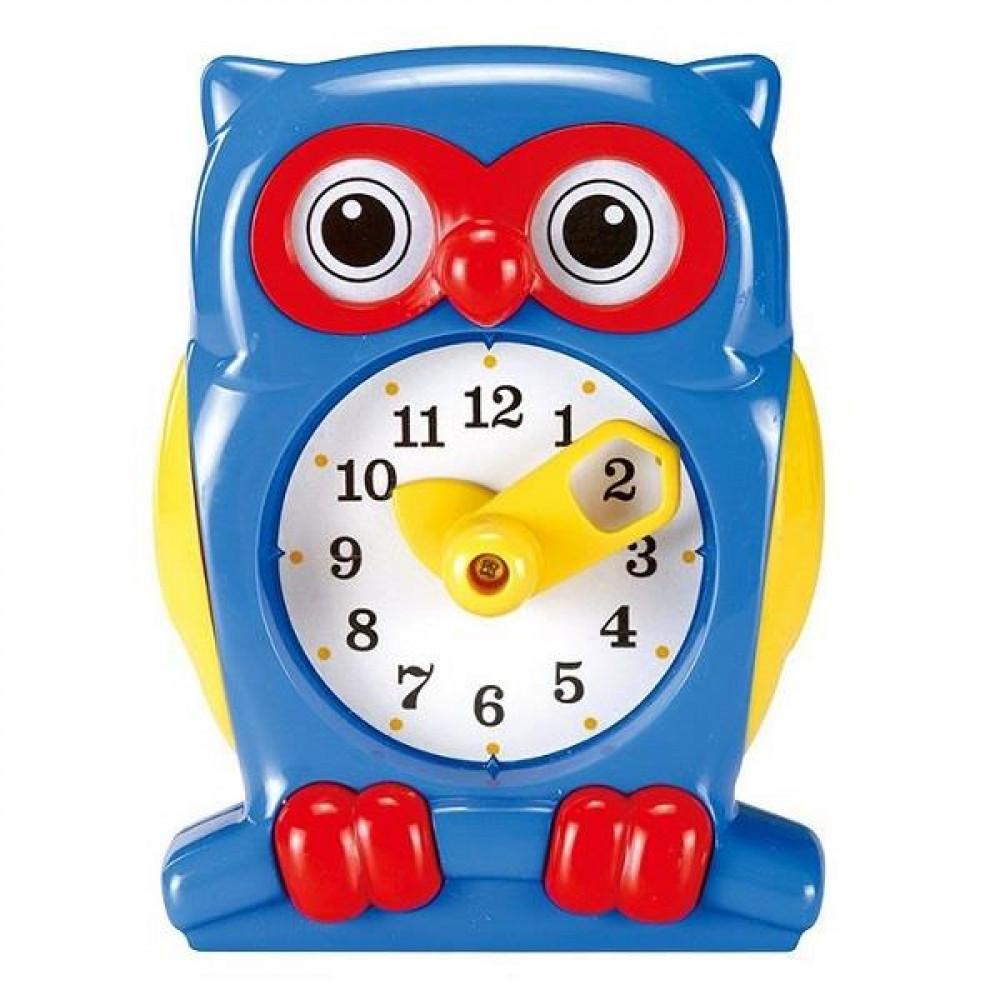 Обучающие часы Gigo Сова (синий)