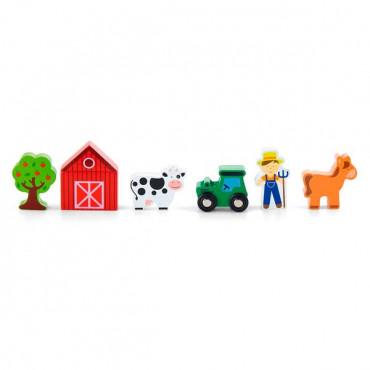 Набор для железной дороги Viga Toys Ферма