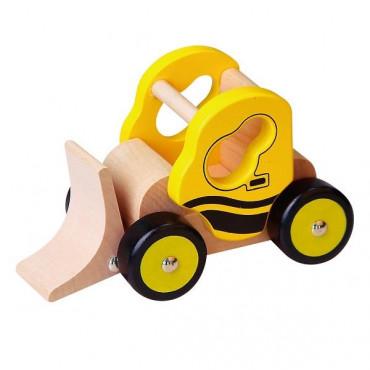 Деревянная игрушечная машинка Viga Toys Бульдозер
