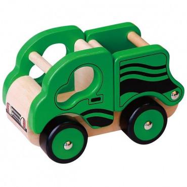 Деревянная игрушечная машинка Viga Toys Самосвал