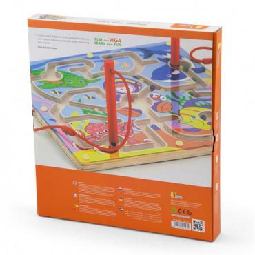 Магнитный лабиринт Viga Toys Подводный мир