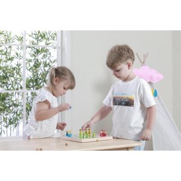 Деревянная настольная игра Viga Toys Лудо
