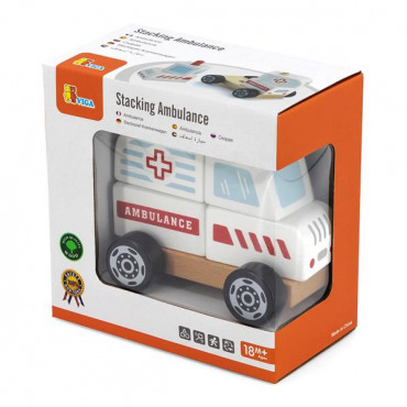 Деревянная пирамидка Viga Toys Viga Toys Машина скорой помощи
