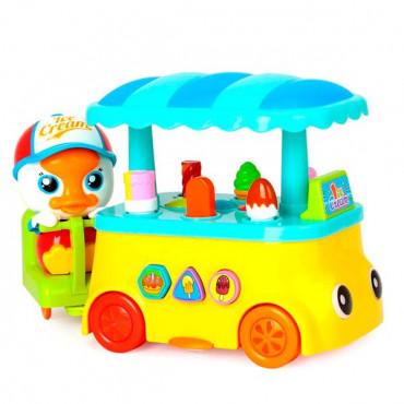 Музыкальная игрушка Huile Toys Утенок с мороженым