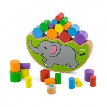 Деревянная игра-баланс Viga Toys Слоник