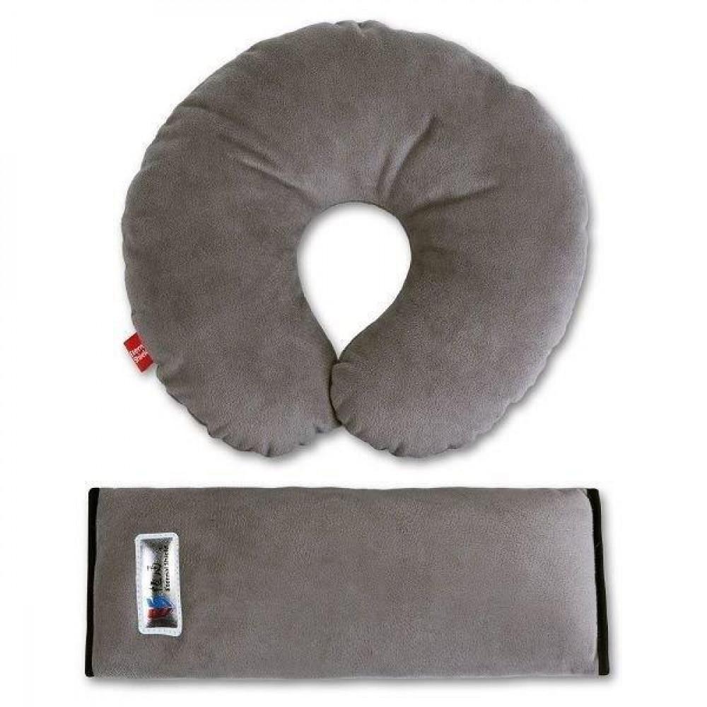 Комплект дорожній для сну Eternal Shield сірий