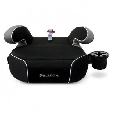 Автокресло бустер Welldon Penguin Pad (черный)