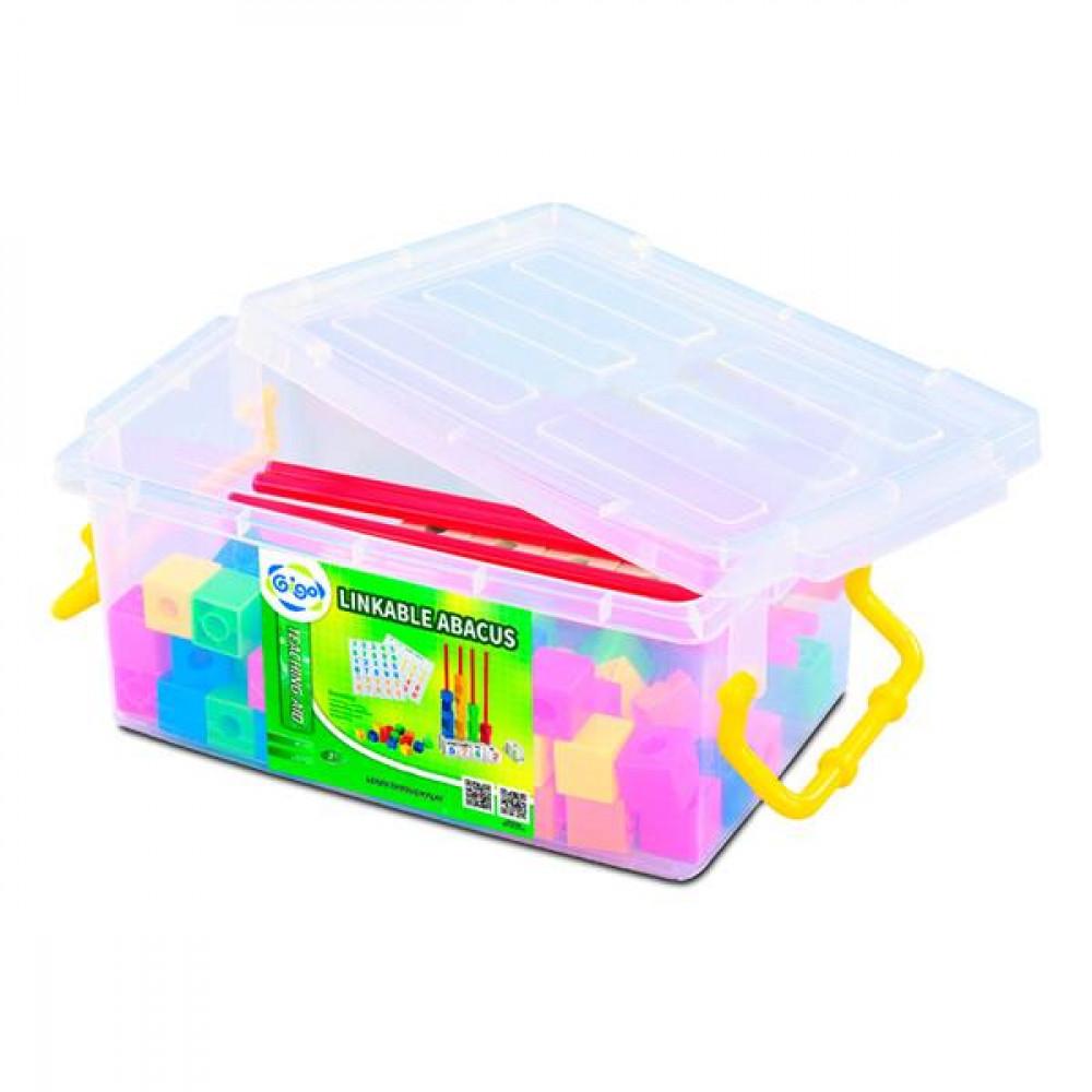 Набор для счета Gigo Кубики на стержнях, 2 см