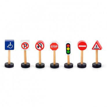 Набор для железной дороги Viga Toys Дорожные знаки