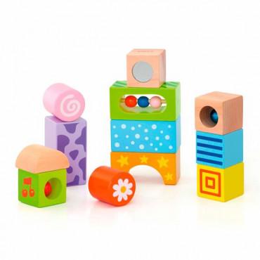 Деревянные кубики Viga Toys Погремушки