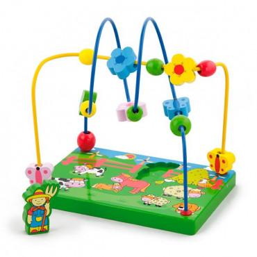 Деревянный лабиринт Viga Toys Ферма