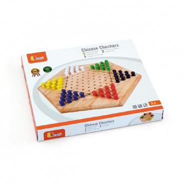 Деревянная настольная игра Viga Toys Китайские шашки