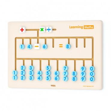 Бизиборд Viga Toys Математика