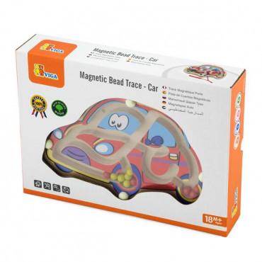 Магнитный лабиринт Viga Toys Машинка