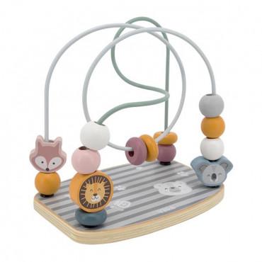 Деревянный лабиринт Viga Toys PolarB Бусины