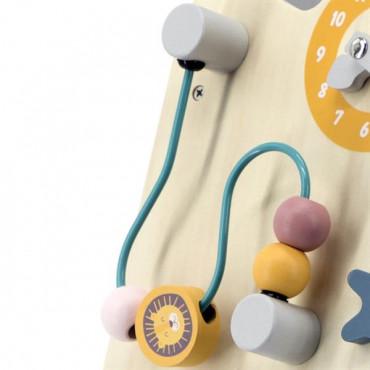 Детские ходунки-каталка Viga Toys PolarB с бизибордом