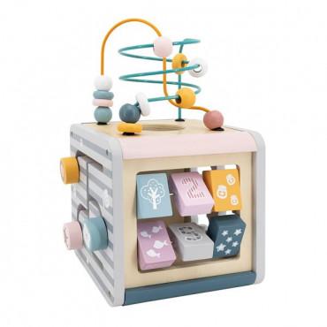 Деревянный бизикуб Viga Toys PolarB 5 в 1