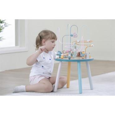Деревянный игровой центр Viga Toys PolarB Столик с лабиринтом