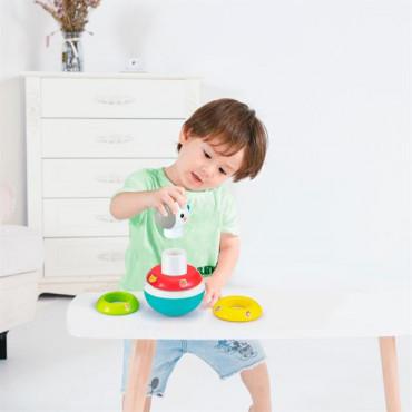 Пірамідка-неваляшка Hola Toys Єдиноріг