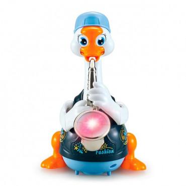 Інтерактивна музична іграшка Hola Toys Гусь-саксофоніст (синій)