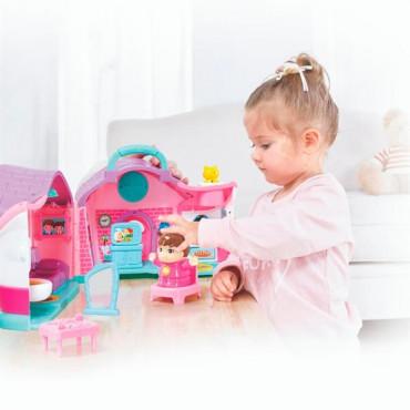 Музыкальная развивающая игрушка Hola Toys Кукольный домик Эммы