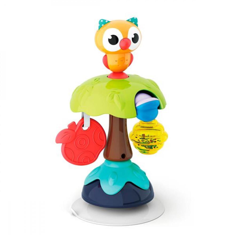 Брязкальце на присосці Hola Toys Совенок