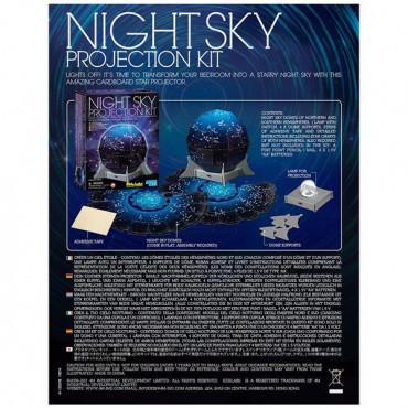 Набір для досліджень 4M Проектор нічного неба