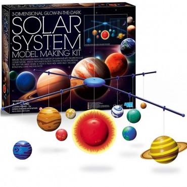 Набір для досліджень 4M 3D-модель Сонячної системи