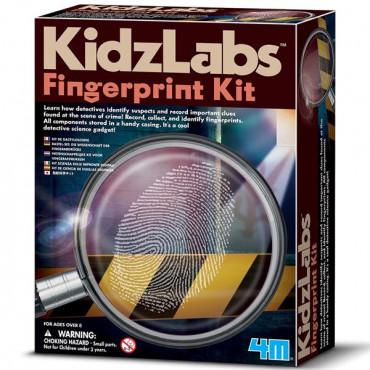 Набор детектива 4M Отпечатки пальцев