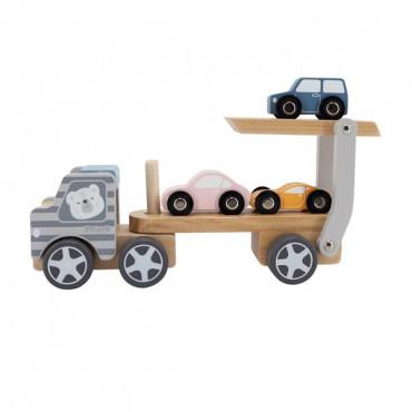 Дерев'яна іграшкова машинка Viga Toys PolarB Автовоз