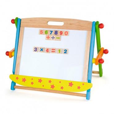 Доска Viga Toys магнитно-маркерная на подставке