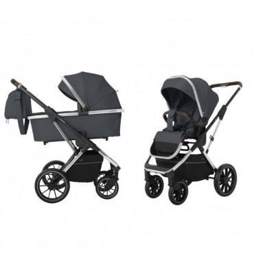 Универсальная коляска CARRELLO Aurora CRL-6505 (2in1) Iron Grey +дождевик /1/