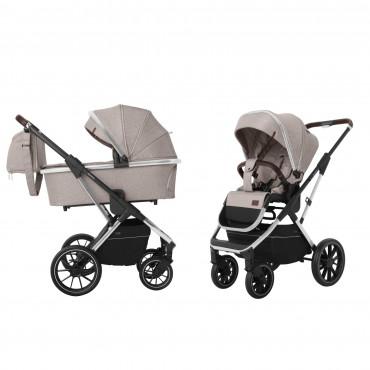 Универсальная коляска CARRELLO Aurora CRL-6505 (2in1) Almond Beige +дождевик /1/