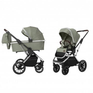 Универсальная коляска CARRELLO Aurora CRL-6505 (2in1) Tea Green +дождевик /1/